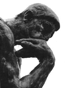 Auguste Rodin. Le Penseur.