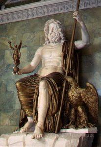 Статуя Юпитера в Питере