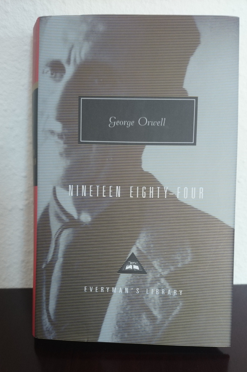 a report on nineteen eighty four by george orwell The chestnut tree was almost empty a ray of sunlight slanting through a window fell on dusty table-tops it was the lonely hour of fifteena tinny music trickled from the telescreens.