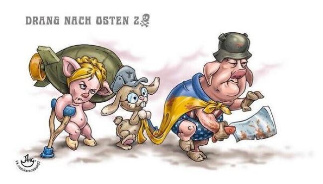 Drang nach Osten - Porky Poroshenko
