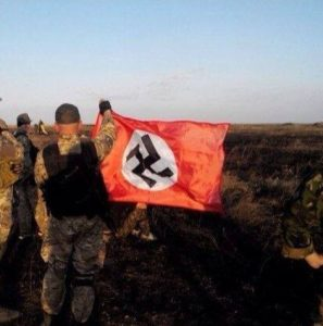 Hello from Ukrainian national-socialists from the Eastern front!
