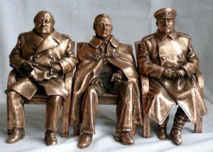 Cereteli-Stalin-Roosevelt-Cherchill