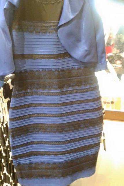 платье переменного цвета