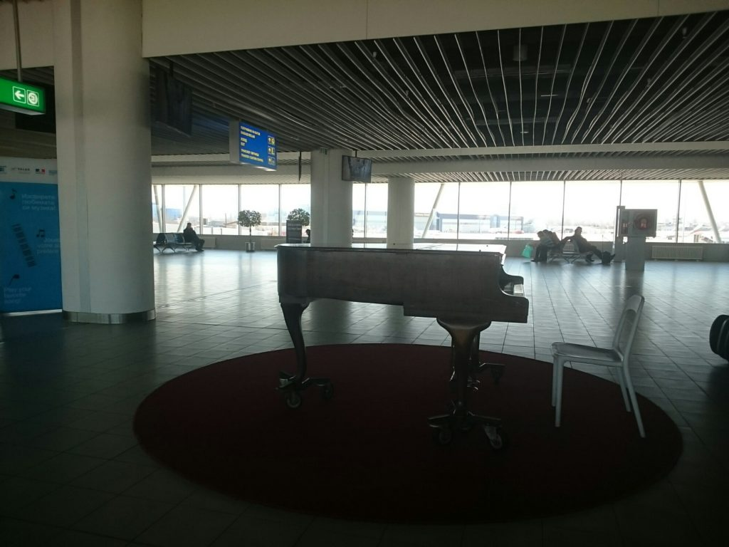 Piano Sofia airport